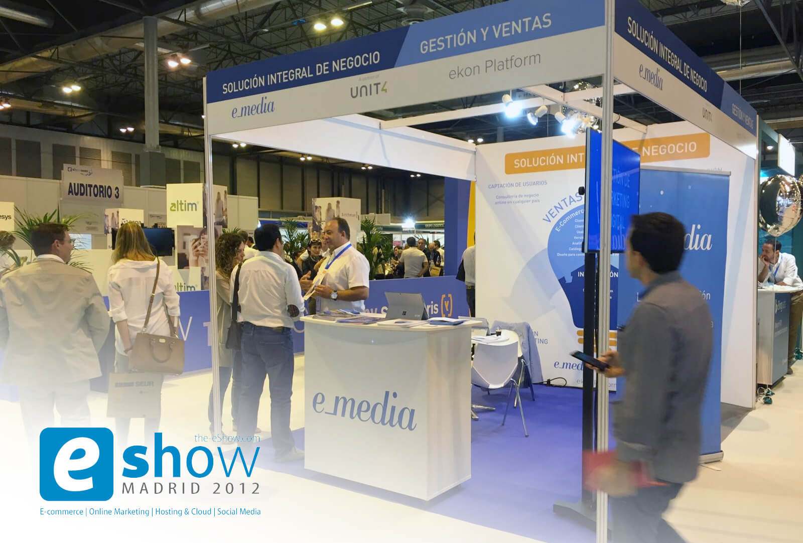 e_media en eShow Madrid 2016