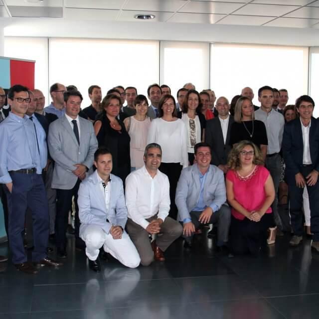 Cerca de 40 directivos de empresas aragonesas se reúnen para hablar sobre transformación digital