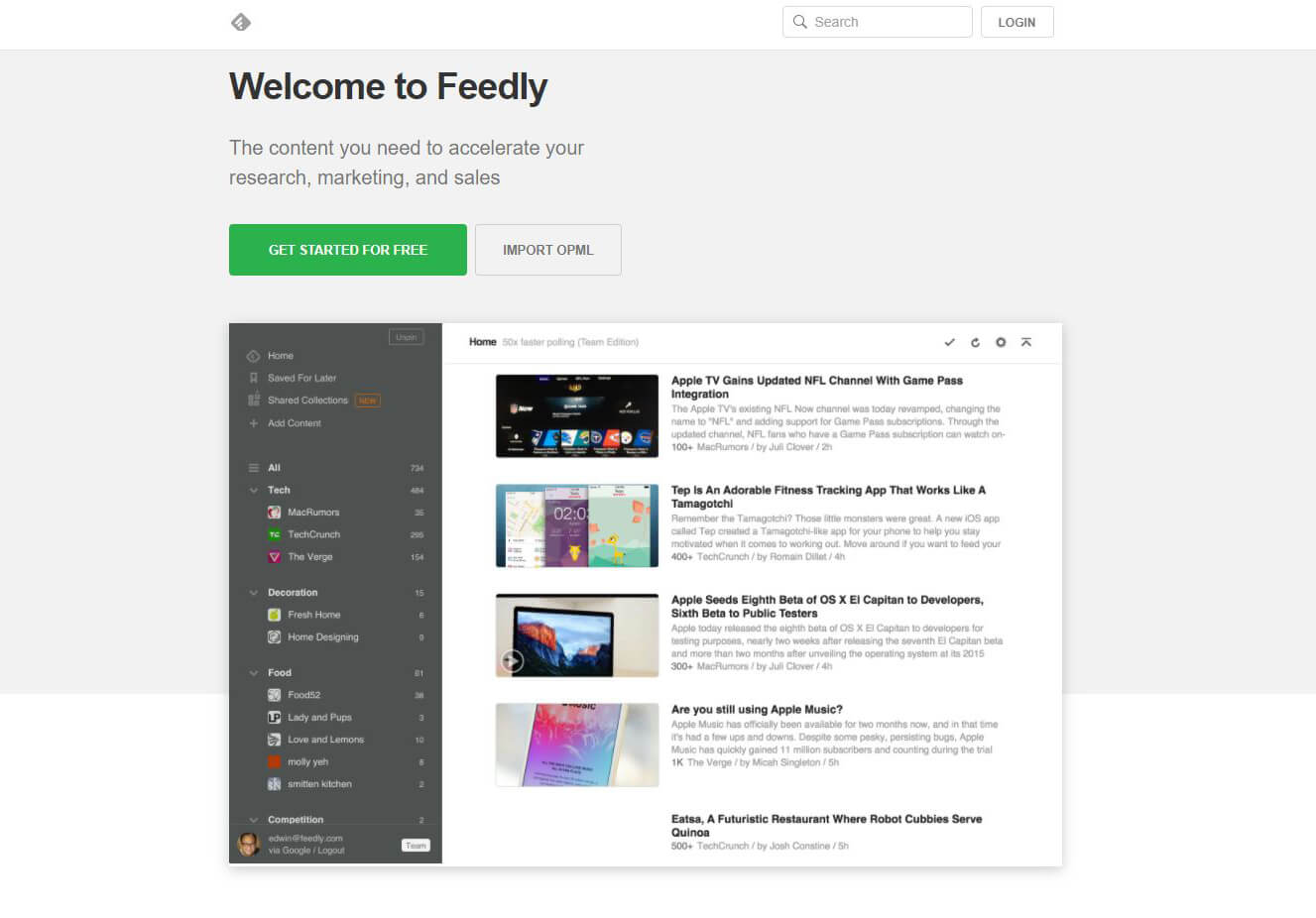 feedly-Uup