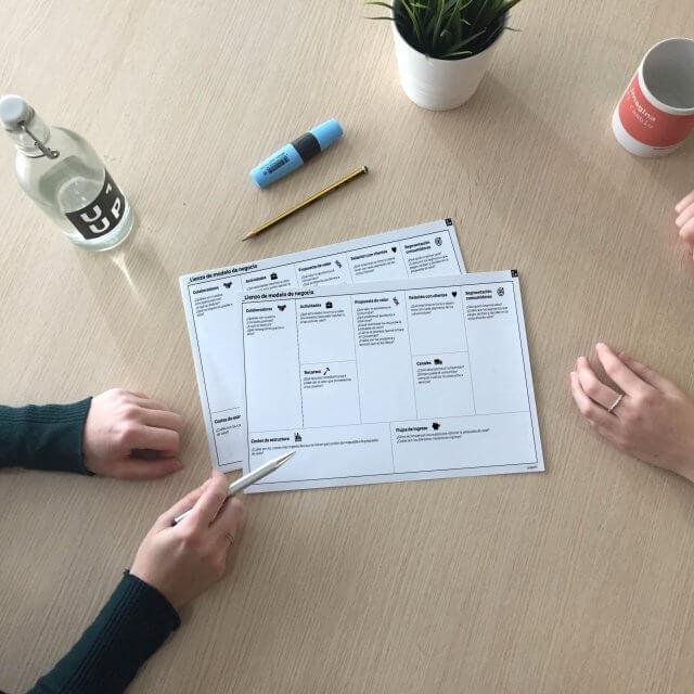 Define la estrategia de tu empresa con el lienzo de modelo de negocio