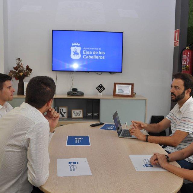 Así ha renovado su identidad visual el Ayuntamiento de Ejea para mejorar su comunicación