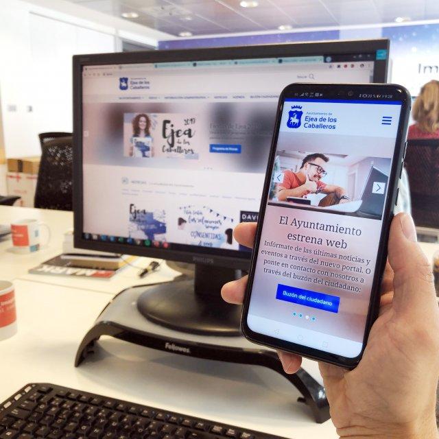 El Ayuntamiento de Ejea reinventa su web para acercarla más al ciudadano