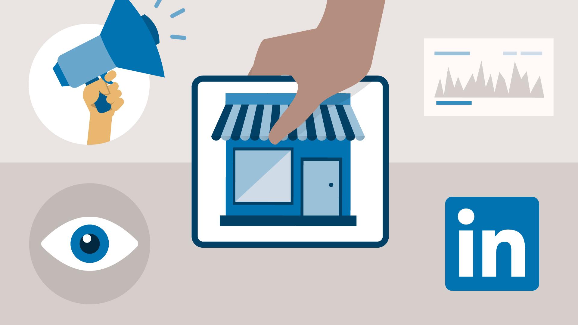 LinkedIn para empresas te permite acercarte a tus clientes online