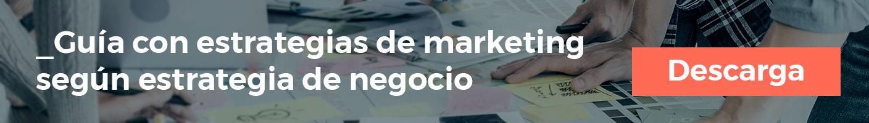 Descarga gratis nuestra guías con estrategias de marketing según tu estrategia de negocio