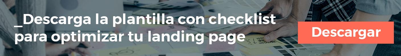 Checklist para optimizar tu landing page